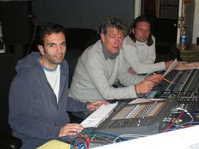 David Foster Working At The Console